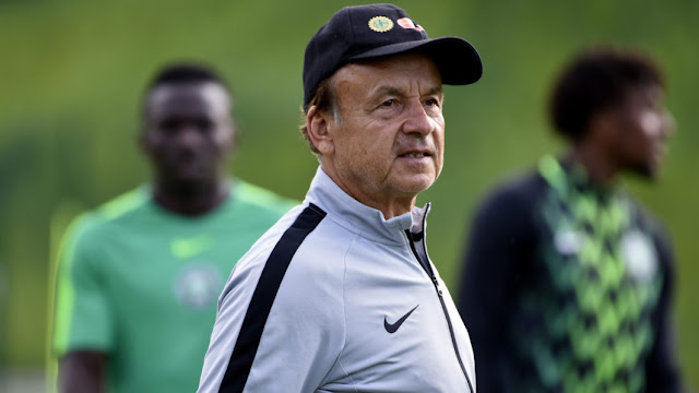 BREAKING! Gernot Rohr announces 24-man Super Eagles squad to face Seychelles