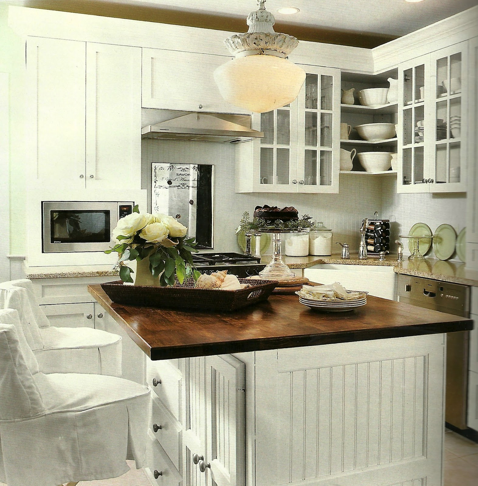 So Many Ways To Go Green Even The Kitchen Island: Stylelinx: Going-Going-Green