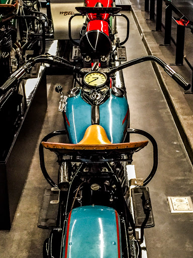 Historic Collection of Harley Davidson Motorcycles