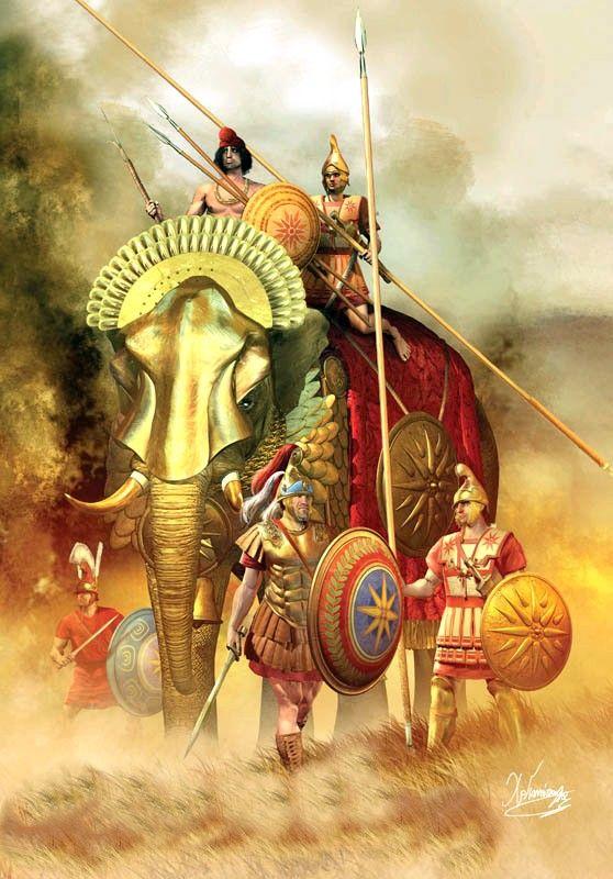 Οι πολεμικοί Ελέφαντες τσακίζουν τους Γαλάτες