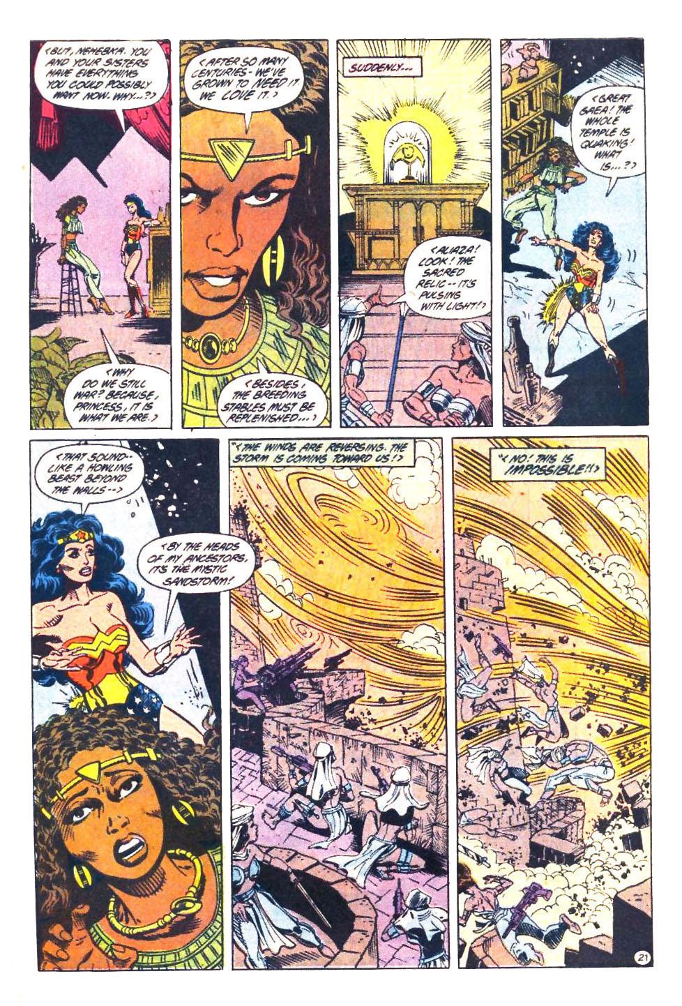 Read online Wonder Woman (1987) comic -  Issue #33 - 22