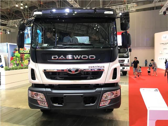 Xe tải Daewoo 9 tấn thùng bạt