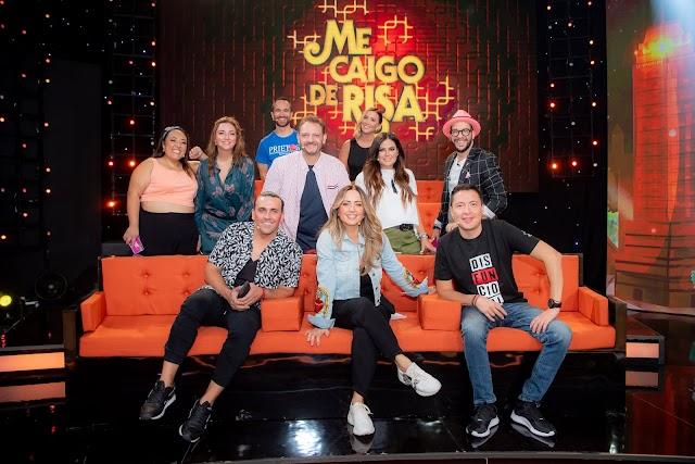 El famoso programa Me caigo de Risa inicia las grabaciones de su sexta temporada