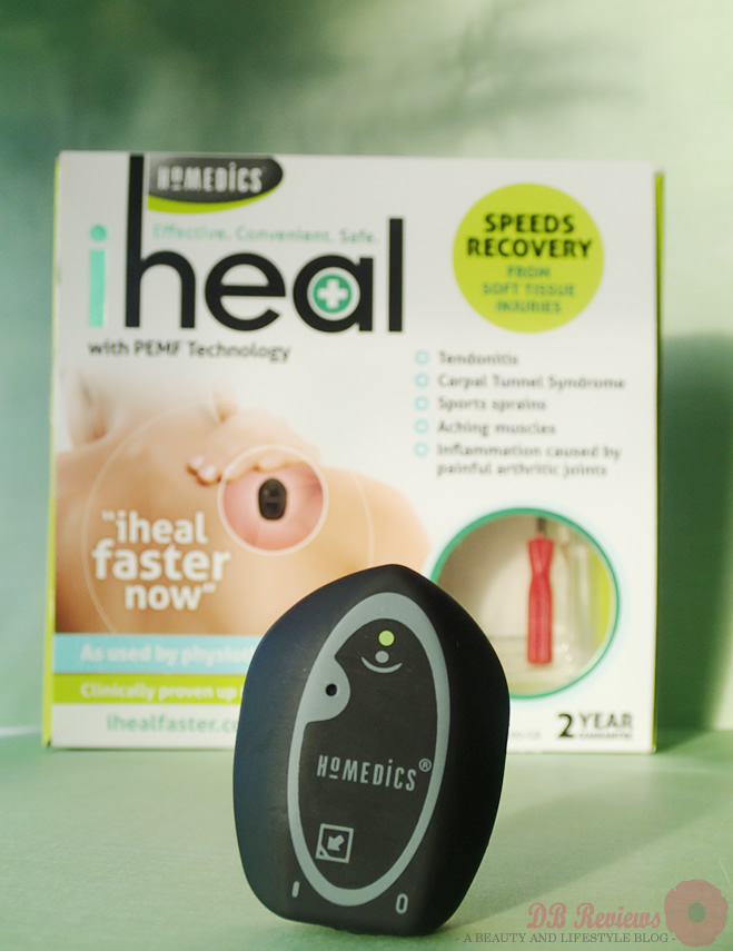 HoMedics iHeal with PEMF technology
