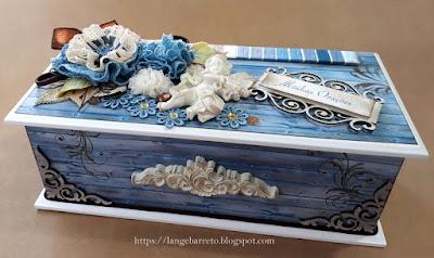 Caixa MDF decorada - Minhas Orações
