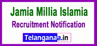 Jamia Millia Islamia Recruitment Notification 2017 Last Date 20-04-2017