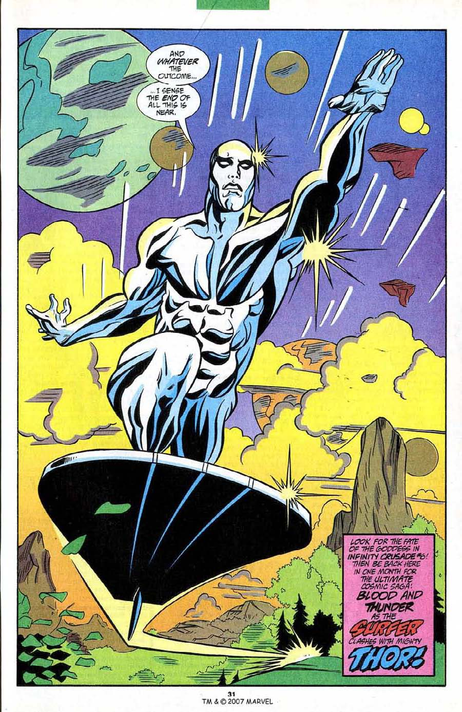 Read online Silver Surfer (1987) comic -  Issue #85 - 33