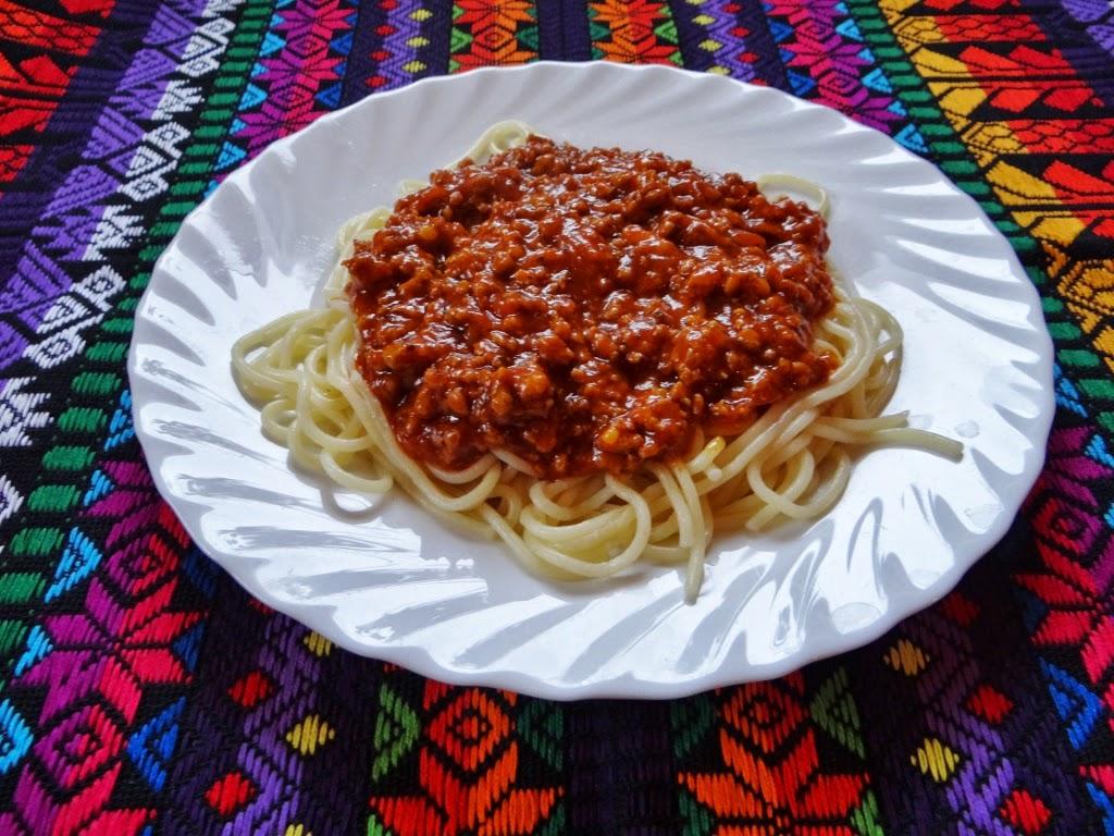 Spaghetti z mięsem