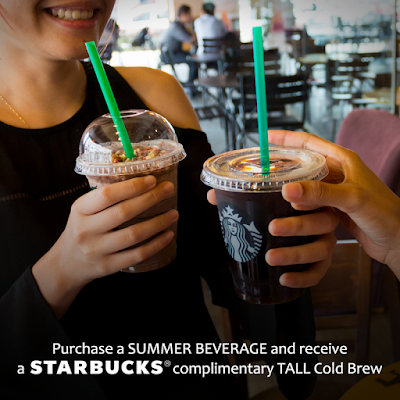 Free Cold Brew With Summer Frappuccino Purchase Wednesday Promo