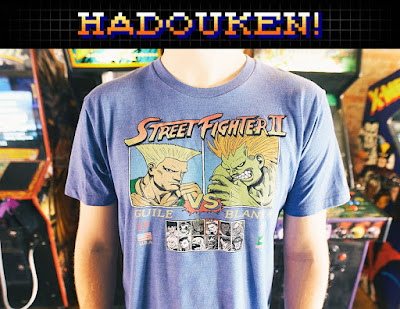 "Street Fighter II ""Vs."" T-Shirt Collection by HOMAGE"