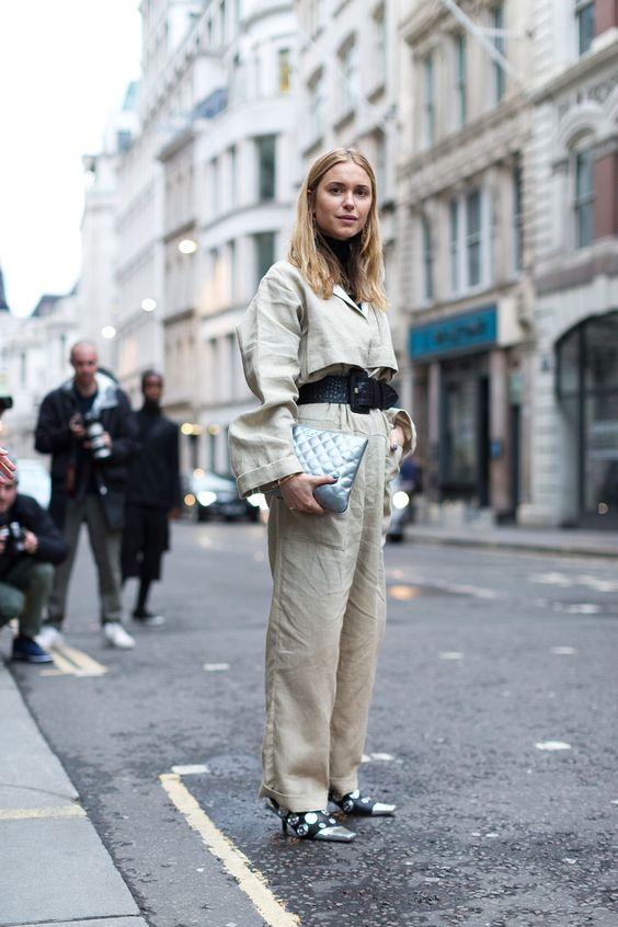 Harper's Bazaar LFW Street Style - Pernille Teisbaek