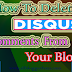 How To Delete Inappropriate Disqus Comments From Your Blog