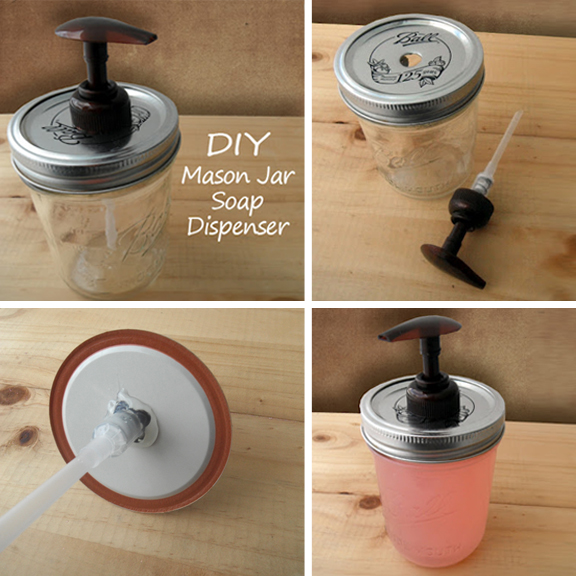 Gypsy Stash by Paula: {DIY} Mason Jar Soap Dispenser