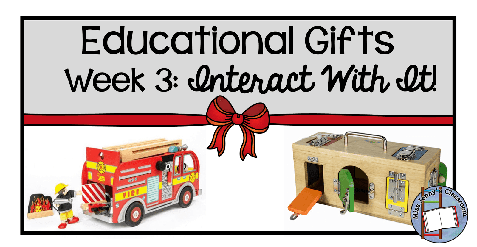 9 Weeks of Educational Gifts: Week 3