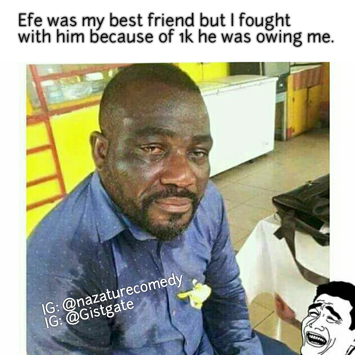Gistgate Nigerian And World News On Celebrity Politics Lifestyle Entertainment Tech Myimsu Com Lol See These Funny Efe Bbnaija Comedy Memes Efe