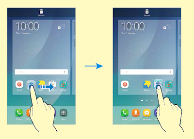 Manual and Tutorial How to Creating App Folders on Samsung Galaxy Note 5