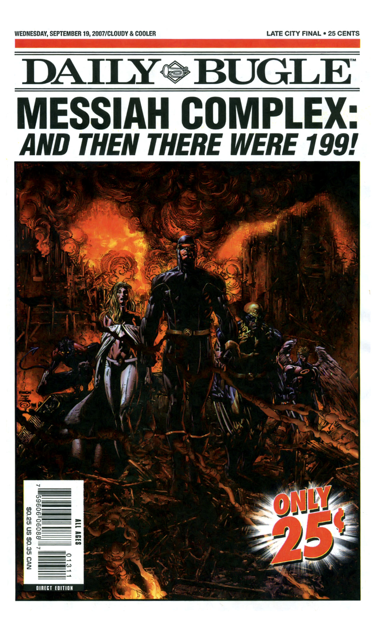 Read online Daily Bugle (2006) comic -  Issue #13 - 1