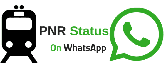 How to check PNR status and live train status using Whatsapp