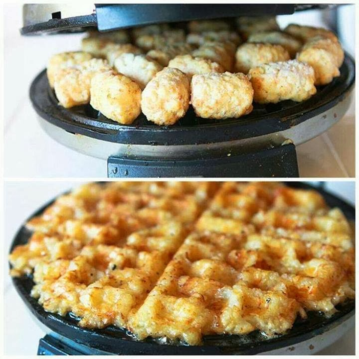 Now You Can Pin It!: Hash Browns Via Waffle Iron