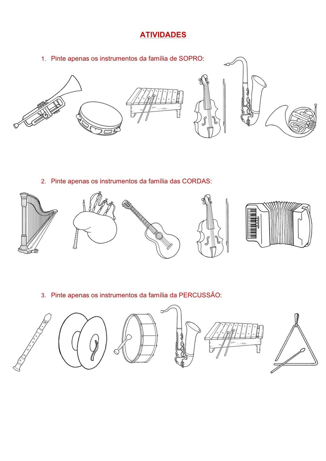 A m sica e a crian a atividades musicais for Tipos de familia pdf