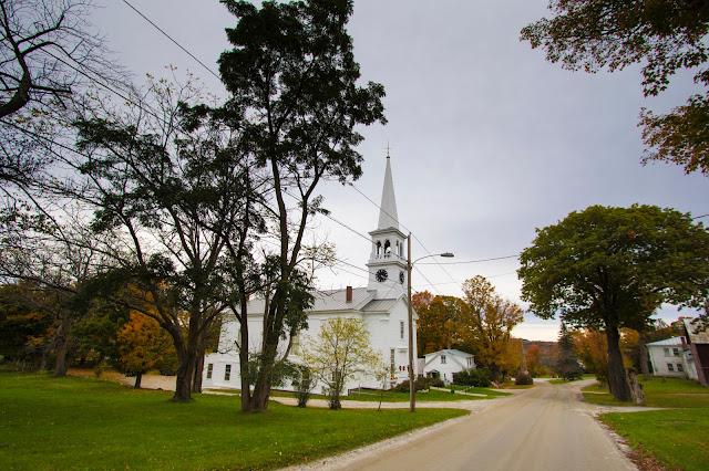 Peacham church