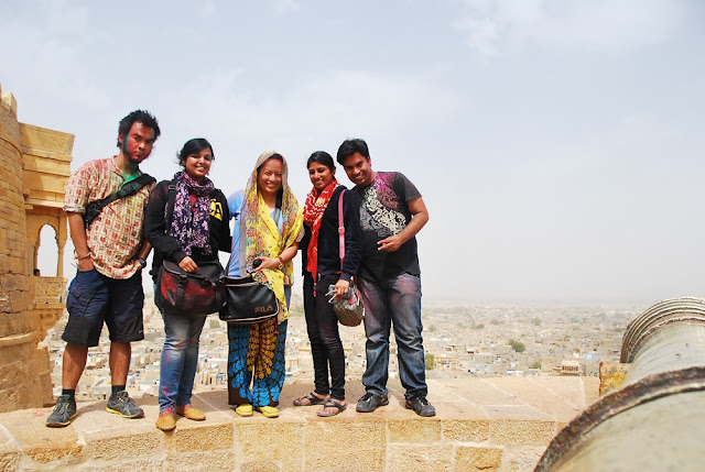 Marky Ramone Go in Jaisalmer with Aileen Siroy