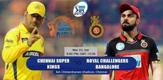 IPL 2019 CSK vs RCB 1st match