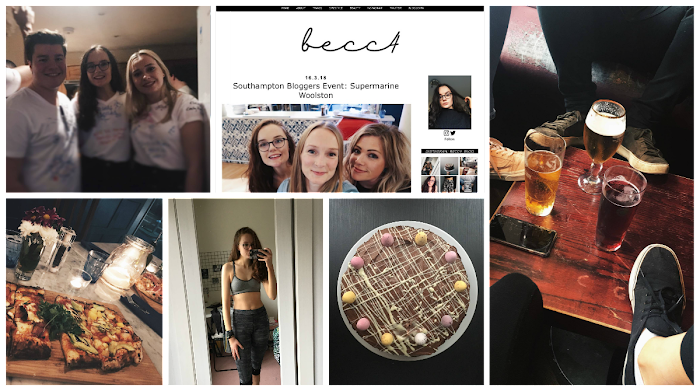 A lifestyle roundup of my week at university featuring all I've bought, watched, eaten, seen and been up to. Featuring a blog redesign, attempting a Parkrun and baking a cake for my Mum