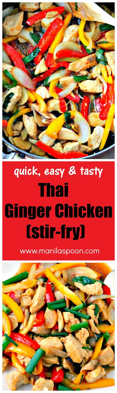 Thai ginger chicken manila spoon if forumfinder Image collections