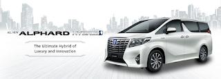 Spesifikasi dan Harga Toyota Alphard 2018