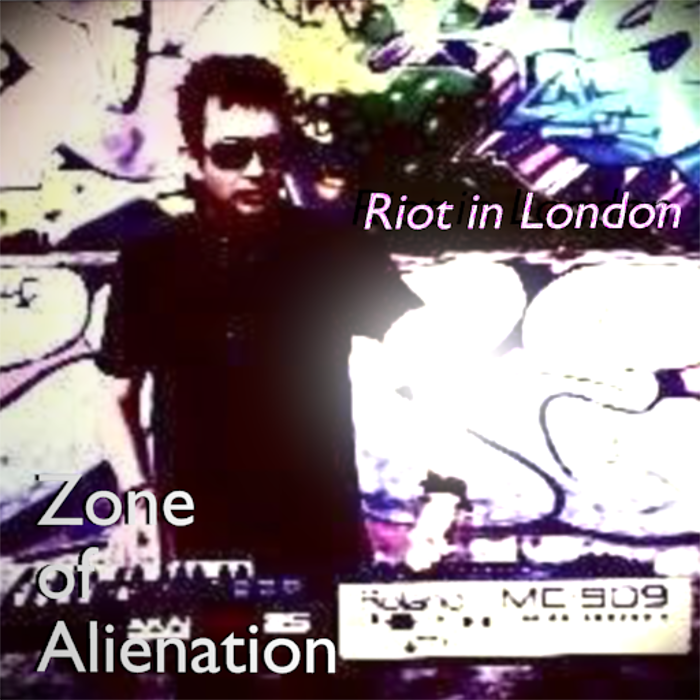 "Click on image to view Riot in London ""Zone of Alienation"" on Youtube"