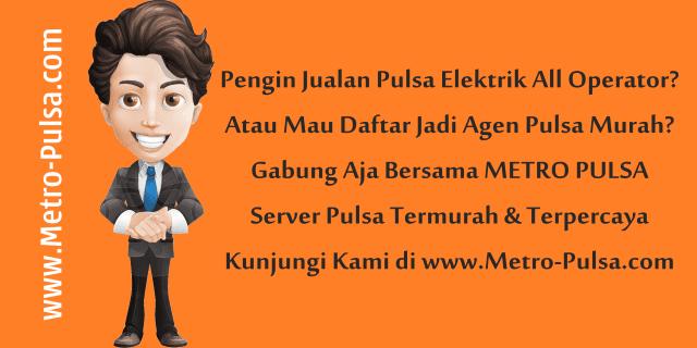 Metro-Pulsa.com Web Resmi Metro Reload Pulsa CV Metro Media Payment