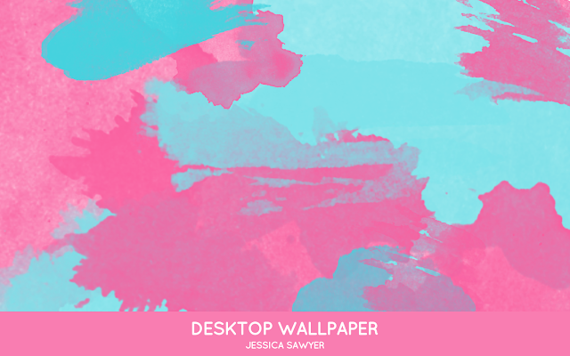 Bright Watercolor Desktop Wallpapers Jessica Sawyer Design