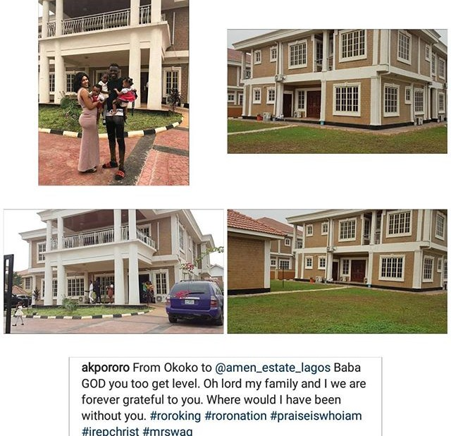 Comedian, Akpororo Acquires Another Mansion