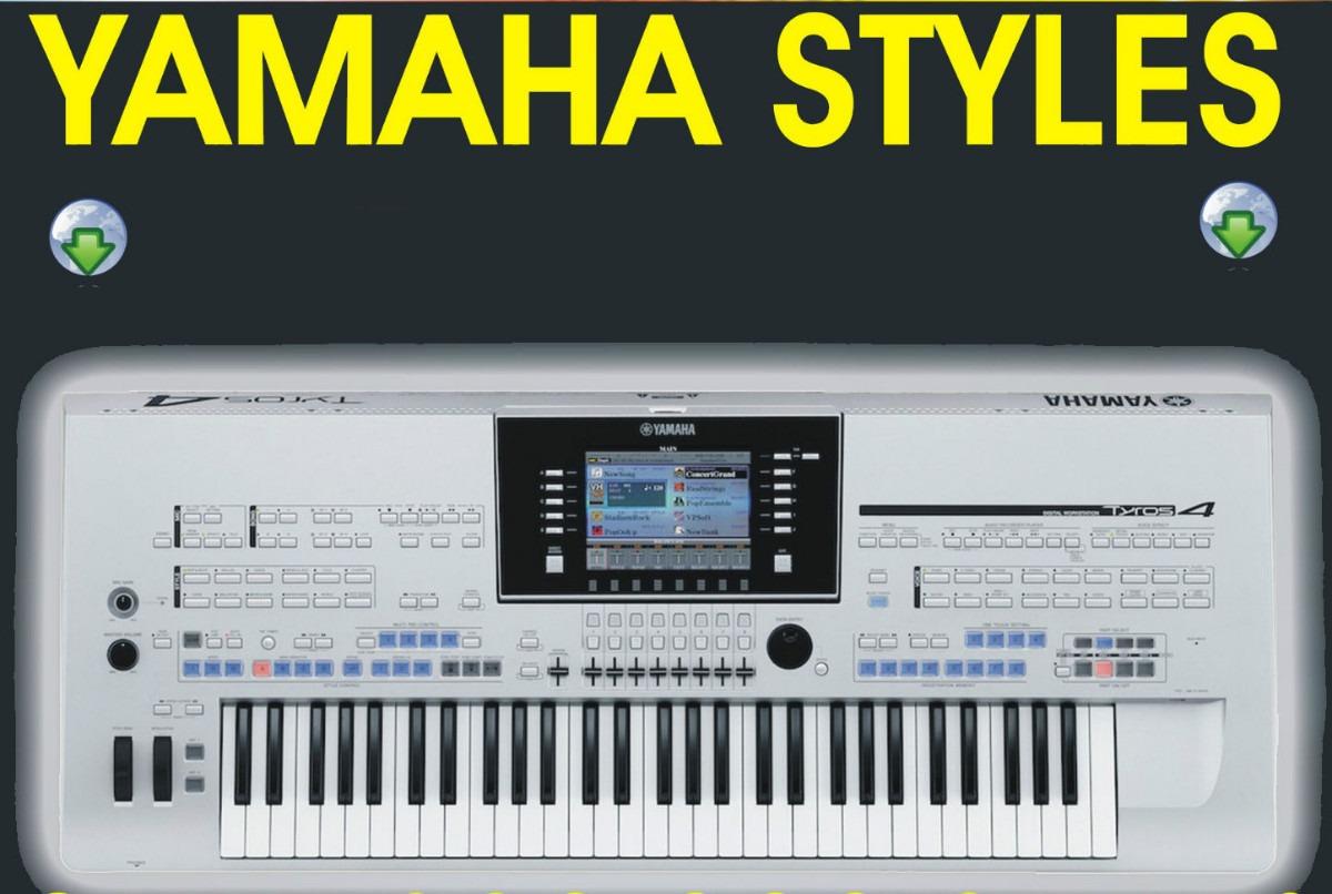 Yamaha psr Styles Rar