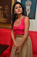 Akshita super cute Pink Choli at south indian thalis and filmy breakfast in Filmy Junction inaguration by Gopichand ~  Exclusive 075.JPG