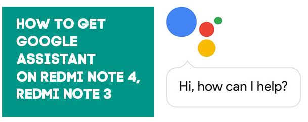 Cara Mengaktifkan Asisten Google di Redmi Note 3