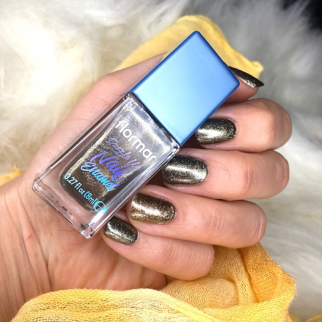 Flormar Dazzle Up Nail Enamel 03 Night Glow oje