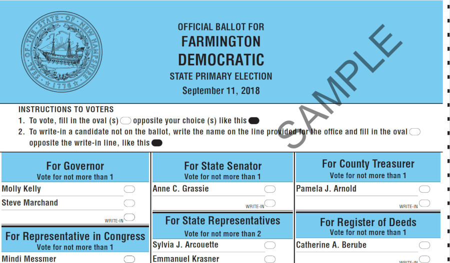 Prepare For New Hampshire Primary Day 2018- Tuesday, Sept ...