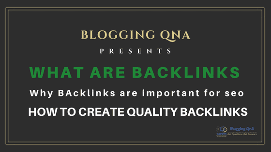 what is backlinks in seo, importance of backlinks and How to Create Backlinks
