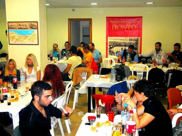 Υποδοχή πρωτοετών και παραδοσιακό Ποντιακό γλέντι στο Σύλλογο Ποντίων Φοιτητών Θεσσαλονίκης