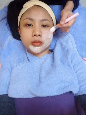 Nano facial scrub