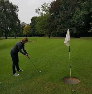 Bruntwood Park Pitch and Putt course in Cheadle
