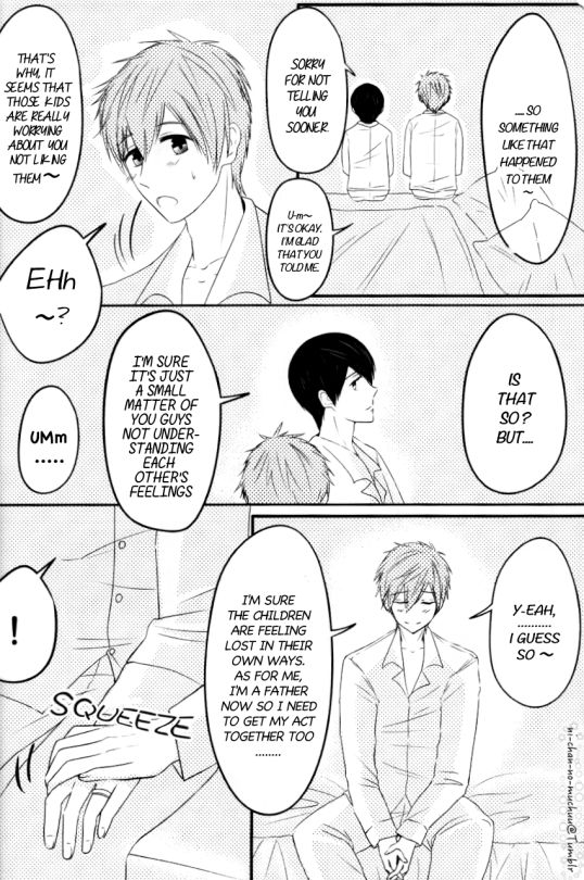 Free! Dj - Shiawase! Tachibana Family - Chapter 1
