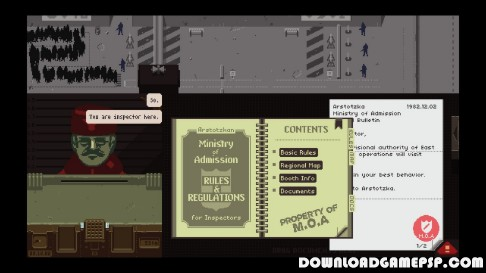 Papers Please - Download Game PSP PPSSPP PSVITA Free