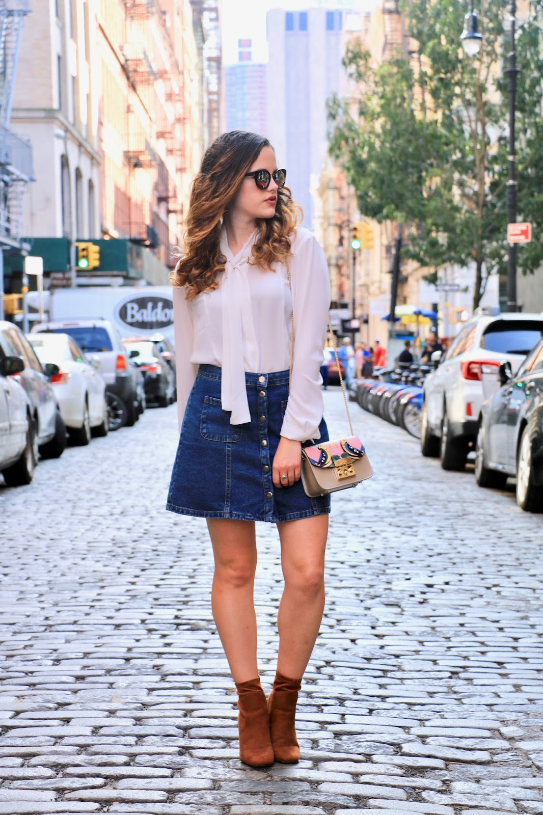 Fashion blogger Kathleen Harper's NYC fall street style