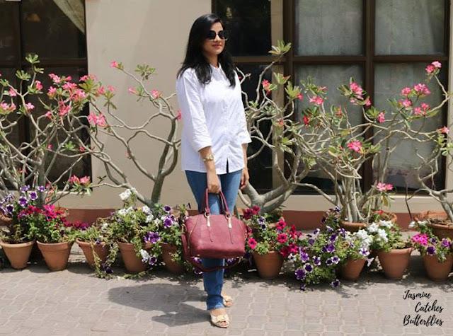Sunday Brunch At Beach Luxury - White Shirt