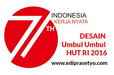 Download Desain Banner Umbul Umbul HUT RI 17 Agustus 2016 Gratis