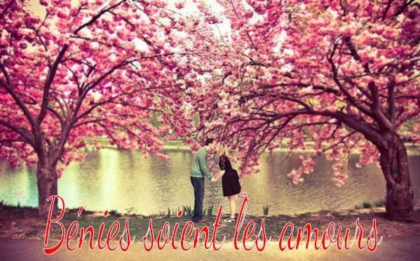 Photos romantiques d'un couple amoureux