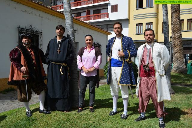 El Cabildo y la Asociación Cultural Día del Corsario fomentan la participación e integración social de las asociaciones vecinales la comunidad escolar